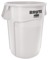 Контейнер для мусора Rubbermaid BRUTE 166,5л FG264300WHT