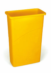 Контейнер для мусора Rubbermaid SlimJim 87л / желтый / FG354000YEL